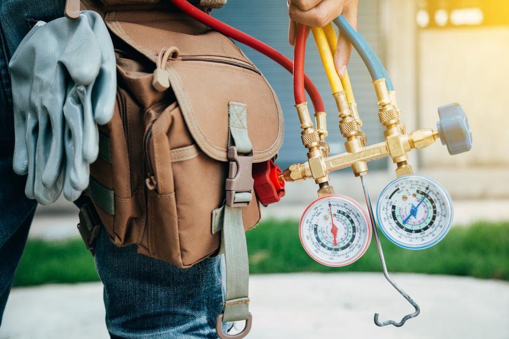 heat pump cold air HVAC